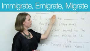 Migration and immigration process