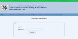 Primary Teacher Exam